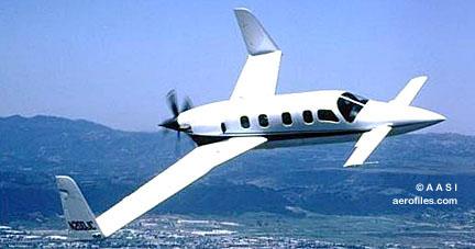 Hustler 500 turboprop airplane