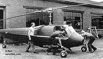 Bell 47 - O primeiro helicoptero operacional Bell-30mod1