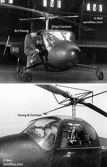 Bell 47 - O primeiro helicoptero operacional Bell-30mod2