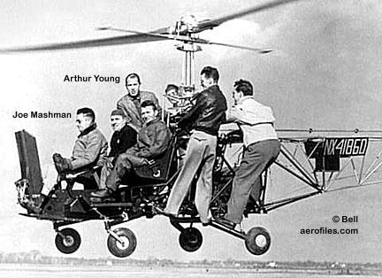 Bell 47 - O primeiro helicoptero operacional Bell-30mod3