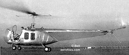 Bell 47 - O primeiro helicoptero operacional Bell-47b3