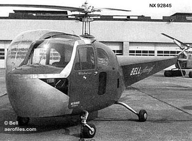 Bell 47 - O primeiro helicoptero operacional Bell-47bx
