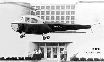 Bell 47 - O primeiro helicoptero operacional Bell47b