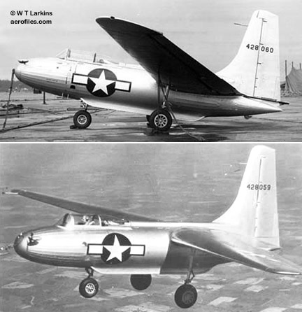 American airplanes: Cl - Cr