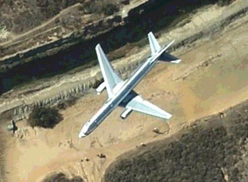 Google Earth Airplanes
